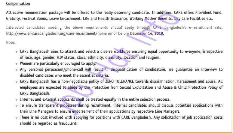 Technical Coordinator Job Circular 4