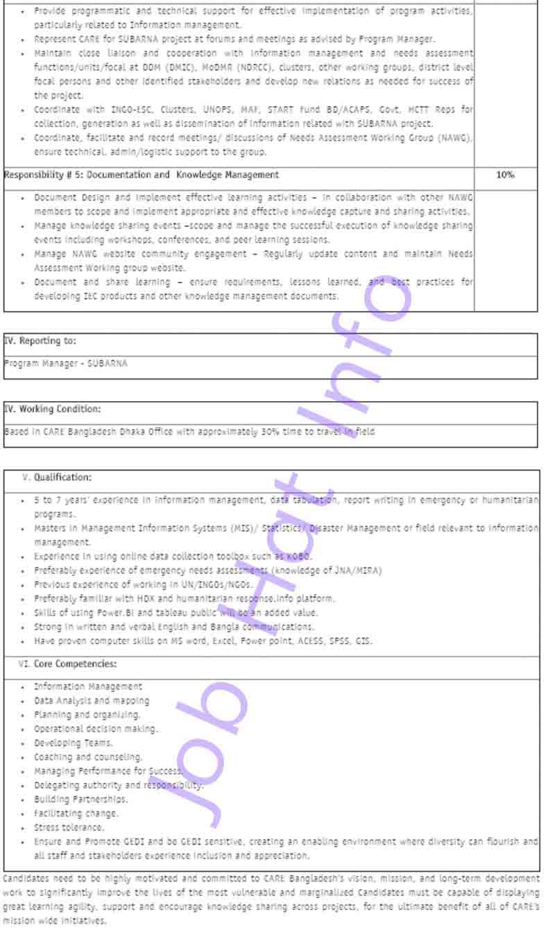 Technical Coordinator Job Circular 3