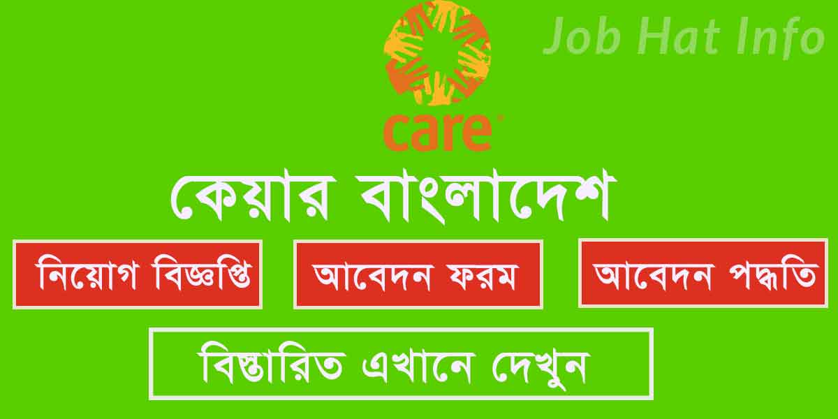 Project Development Officer Job- Care Bangladesh 1