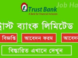 Trust Bank Limited Published Job Circular Online Apply- www.tblbd.com 1