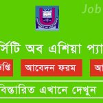 Job Circular at University of Asia Pacific 18