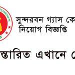 Sundarban Gas Company Limited (SGCL) Circular Apply-teletalk.com.bd 2