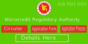 Microcredit Regulatory Authority Job Circular Apply teletalk.com.bd 14