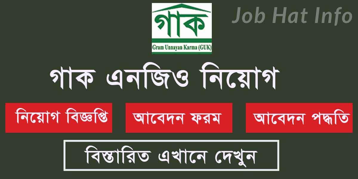 GUK Job Circular-2020 1