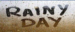 A Rainy Day Paragraph