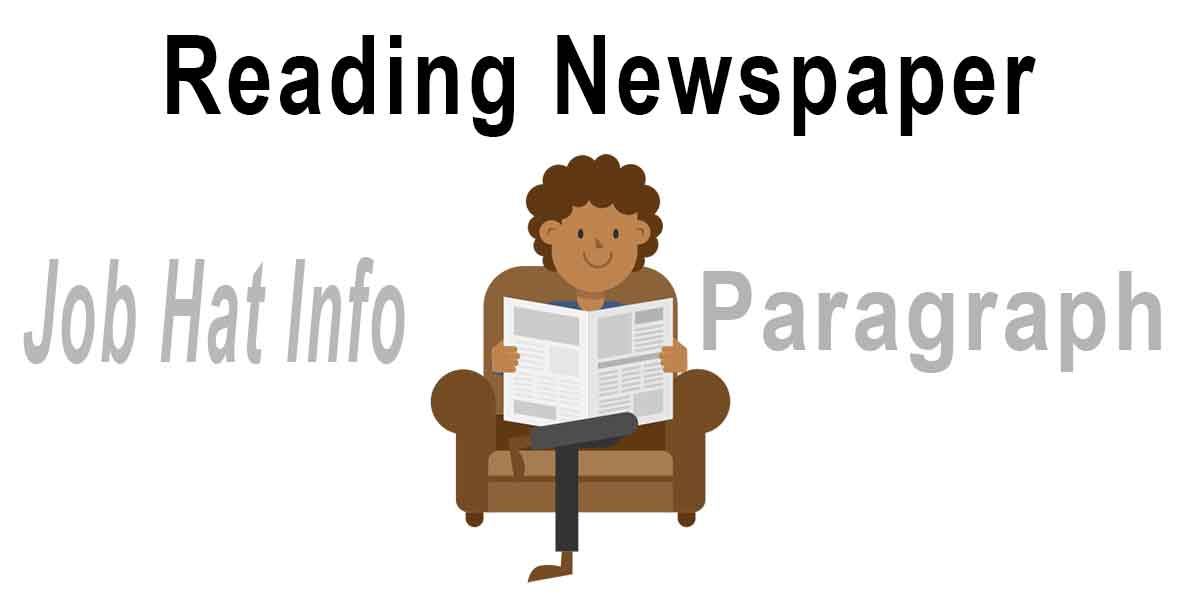 Reading Newspaper Paragraph