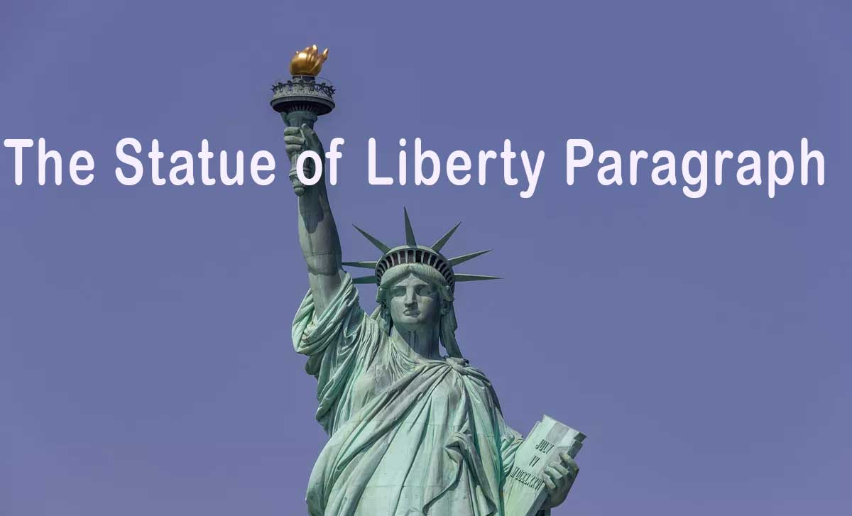 The Statue of Liberty Paragraph