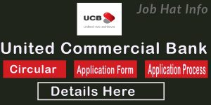 UCB Bank Job Circular