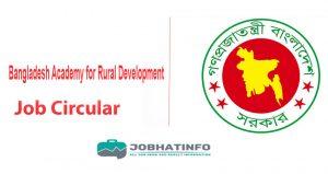 Bard Job Circular 2020 | www.bard.gov.bd 1