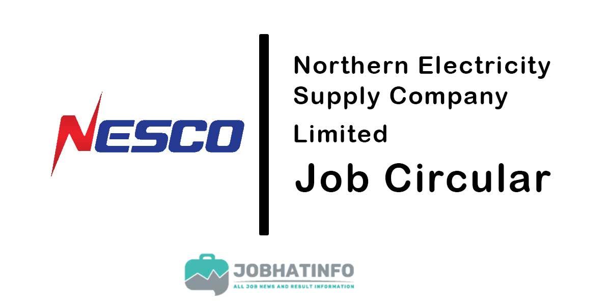 Nesco Job Circular