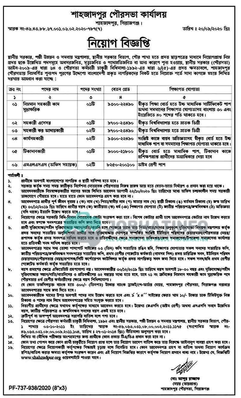 RDCD Job Circular 2021 | Rural Development and Co-operative Division | Govt Job 2