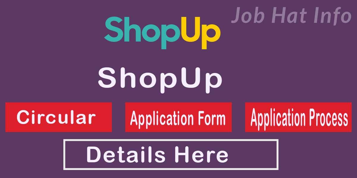 ShopUp job circular
